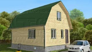 Проект дома Проект дома №95, 48 м2