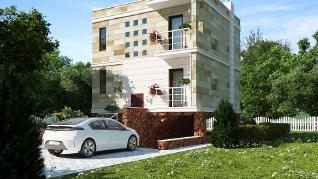Проект дома ним, 90.3 м2
