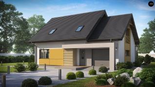 Проект дома Проект z219, 165.1 м2