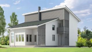Проект  проект дома серии Kriss 160, 198 м2