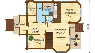 Проект дома Проект ДН-170, 145 м2