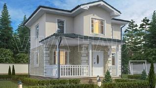 Проект  Дом СЮИТА, 116 м2