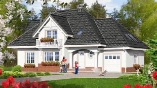 Проект  Дом в зорях 4, 181.7 м2