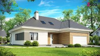 Проект дома Проект z173, 247.3 м2