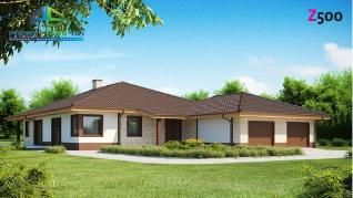 Проект дома Проект z82, 268.4 м2
