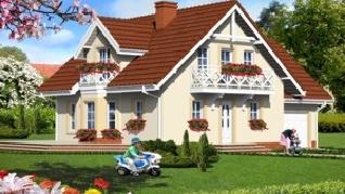 Проект  Дом в рододендронах 5, 166.4 м2