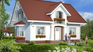 Проект  Дом в кориандре (П), 183.2 м2