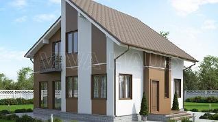 Проект  Дом ТЕНОР, 164 м2