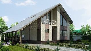 Проект  Дом ЛИГА, 175 м2