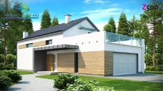 Проект дома Проект zx60, 195.1 м2