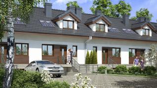 Проект  Дом в цикламенах 4(ПС), 132.6 м2