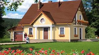 Проект  Дом в клубнике 2 (Г), 163.1 м2