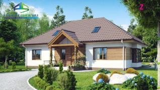 Проект дома Проект z106, 113.6 м2