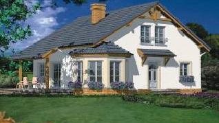 Проект  Дом в первоцветах, 133.9 м2