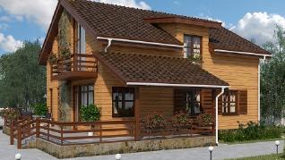 Проект дома AS-2087, 183 м2