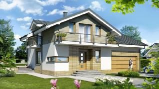 Проект  Дом в буддлеях (Г2), 178 м2