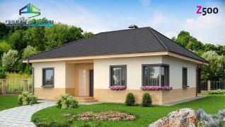 Проект дома Проект z24, 110.6 м2
