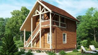 Проект дома Народный 12, 54 м2