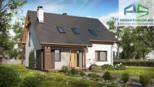 Проект дома Проект z92, 147.1 м2