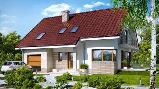 Проект  Дом в айдаредах (П), 209.57 м2