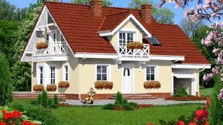 Проект  Дом в рододендронах 6, 152.2 м2