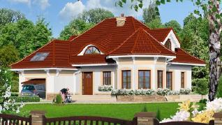 Проект  Дом под юккой 3, 180.1 м2
