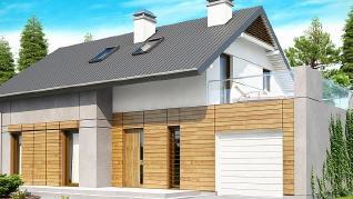 Проект дома Проект Z149, 158 м2