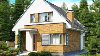 Проект дома Проект Z112, 110.9 м2