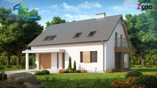 Проект дома Проект z234, 200.3 м2