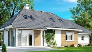 Проект дома Проект Z105, 198.2 м2