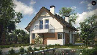 Проект дома Проект z265, 108.9 м2