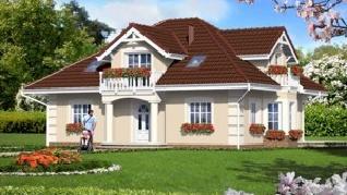 Проект  Дом в эхинацеях, 152.83 м2