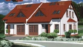 Проект  Дом в клематисах 4, 142.4 м2
