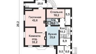 Проект дома AS-2210, 328 м2