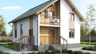 Проект  Дом БЕКАР, 163 м2