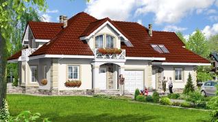Проект  Дом в тимьяне (Р2), 268.1 м2
