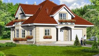 Проект  Дом в тимьяне 3, 184.8 м2
