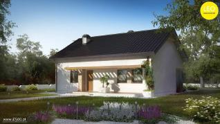 Проект дома Проект z261, 84.9 м2