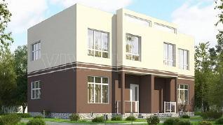 Проект  Дом ДУПЛЕКС - 182, 182 м2