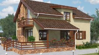 Проект дома AS-2087-2, 183 м2