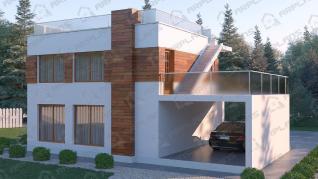 Проект  Модерн 2, 155 м2