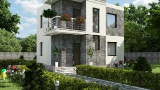 Проект дома Труа, 78 м2