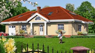 Проект  Дом под красной рябиной (ГПД), 171.8 м2