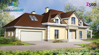 Проект дома Проект z50, 350.5 м2