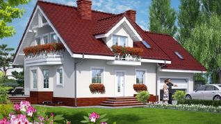 Проект  Дом в рододендронах 6 (Г2П), 258.6 м2