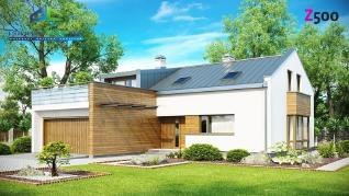 Проект дома Проект zx36, 253.8 м2