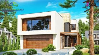 Проект дома Проект zx14, 244.9 м2