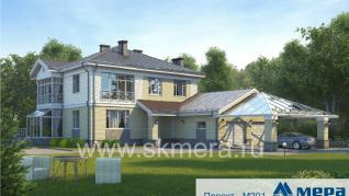 Проект дома M201, 352 м2