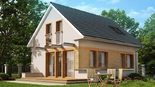 Проект дома Проект Z211, 94.8 м2