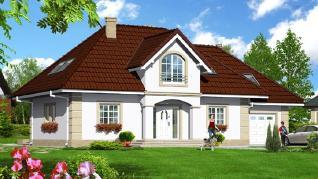 Проект  Дом под белой акацией 4, 200.3 м2